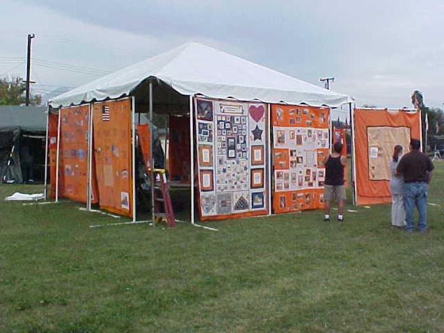 BOOKING INFO Simple Free Standing Quilt Display Rack